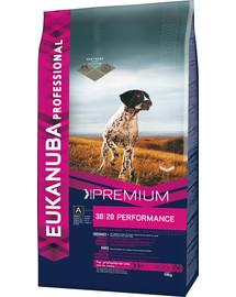 EUKANUBA PROFESSIONAL Premium Performance sausas maistas suaugusiems šunims 19 kg