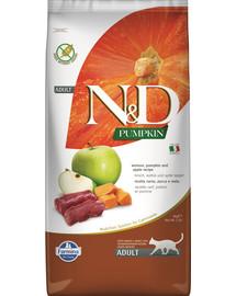 FARMINA N&D Pumpkin Cat Vension & Apple 5 kg
