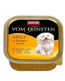 ANIMONDA Vom Feinsten rinkinys su paukštiena ir makaronais  5 x 150 g