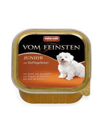 ANIMONDA Vom Feinsten Junior  rinkinys su vištienos kepenėlėmis 5 x 150 g