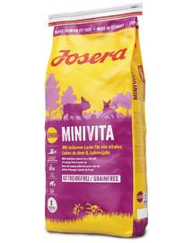 JOSERA MiniVita mažiems senjorams 5 x 900 g (4 + 1 NEMOKAMAI)