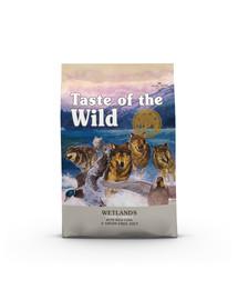 TASTE OF THE WILD Wetlands 24,4 kg (2 x 12,2 kg) su laukiniais paukščiais
