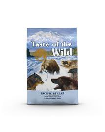 TASTE OF THE WILD Pacific Stream  24,4 kg (2 x 12,2 kg) su rūkyta lašiša