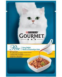 GOURMET Perle Gravy Vištienos 85 g rinkinys 5 + 1 NEMOKAMAI