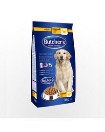 BUTCHER'S Dog Dry  su vištiena 3 kg 3 + 1 NEMOKAMAI