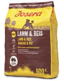 JOSERA Lamb & rice su švelnia ėriena 5 x 900 g (4 + 1 NEMOKAMAI)