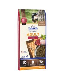 BOSCH Adult ėriena ir ryžiai 15 kg + kepti sausainiai su ciberžole 250 g