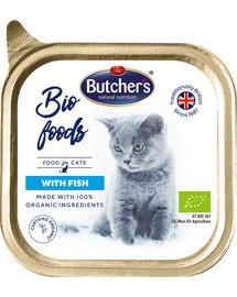 BUTCHER'S BIO foods žuvis 85 g 3 + 1 NEMOKAMAI