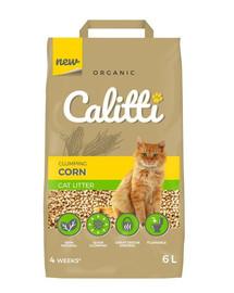 CALITTI Kukurūzų kraikas katėms  6 l