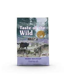 TASTE OF THE WILD Sierra Mountain 24,4 kg (2 x 12,2 kg) su kepta ėriena