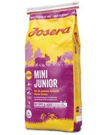 JOSERA Mini Junior 5 x 900g maistas šuniukams (4 + 1 NEMOKAMAI)