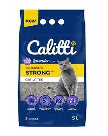 CALITTI Strong Levandų bentonito kačių kraikas 5 l