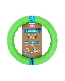 PULLER Pitch Dog green 20` ring šuniui žalias 20 cm
