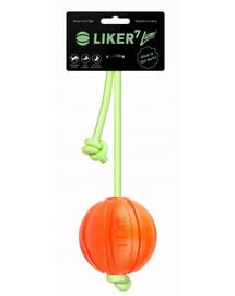 LIKER Lumi Dog toy šunų kamuolys ant šviečiančios virvelės 7 cm