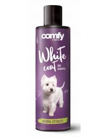 COMFY White Coat Dog shampoo šampūnas šviesiaplaukiams šunims