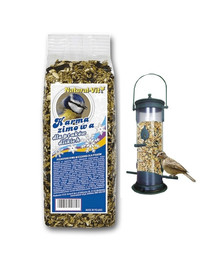 NATURAL-VIT Žieminis maistas paukščiams 25 kg + NEMOKAMA lesykla