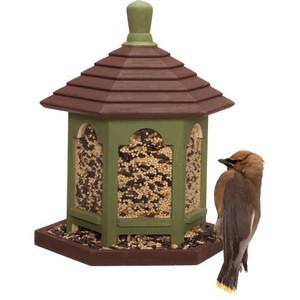 Laukinių paukščių šėryklos ir nameliai