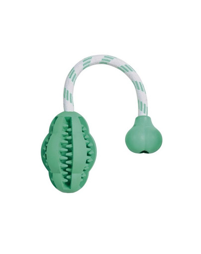 Trixie kramtalas iš natūralios gumos Dentafun 28 cm žydras