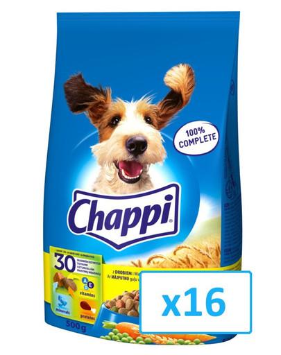 CHAPPI drůběž 0.5 kg x16
