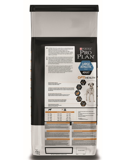 PURINA pro PLAN LARGE ATHLETIC ADULT 14kg