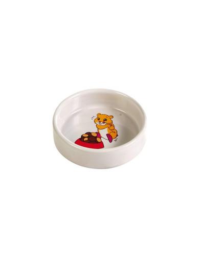 Trixie molinis graužikų dubenėlis žiurkėnams 90 ml/8 cm