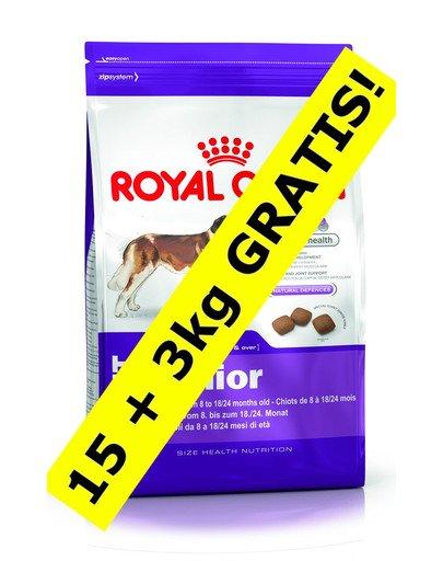 ROYAL CANIN Giant Junior 15 kg + 3 kg DOVANA