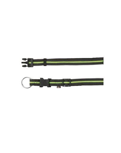Trixie antkaklis M-L  35–55 cm / 20 mm juodas - žalias