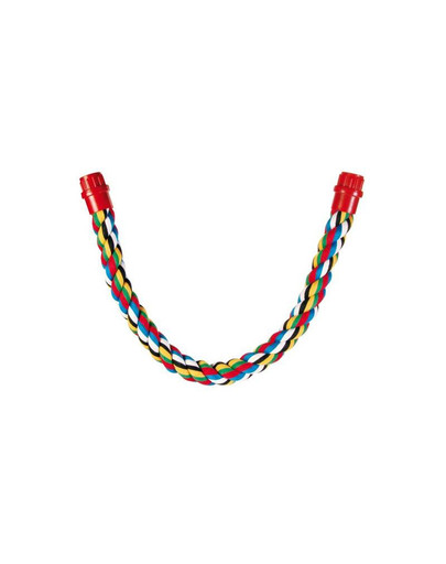 Trixie medvilninė virvė papūgoms 75 cm