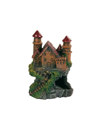 Trixie dekoracija - pilis ant uolos 14 cm