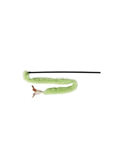 Trixie žaislas meškerė su pliušine uodega 48 cm