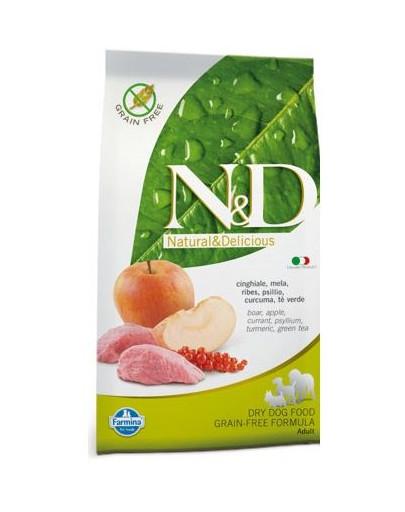 FARMINA N&D boar & apple adult dog 2.5 kg