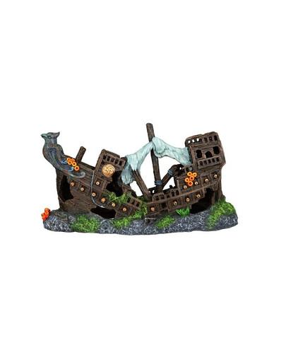Trixie dekoracija sudužęs laivas 23 cm