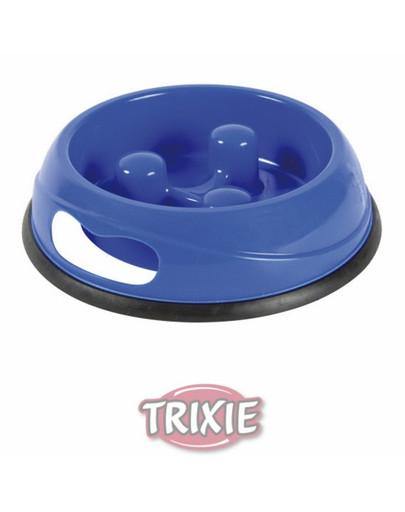Trixie lėto valgymo plastikinis dubenėlis 1.5 l /27 cm