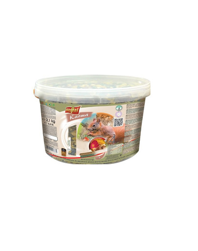 Vitapol maistas voverėms 2.1 kg