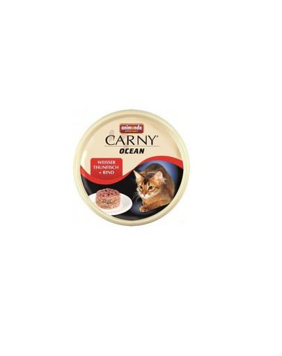 ANIMONDA Carny ocean puszka 0.08 kg kot biały tuńczyk / wołowina