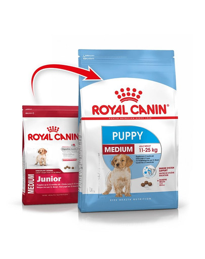 ROYAL CANIN Medium puppy junior 1 kg
