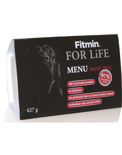 FITMIN Menu meat mix 427g