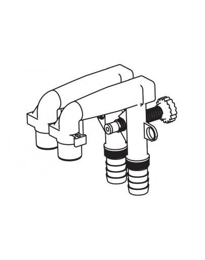 Aquael Unimax filtro vamzdžių rinkinys (2 vnt.)