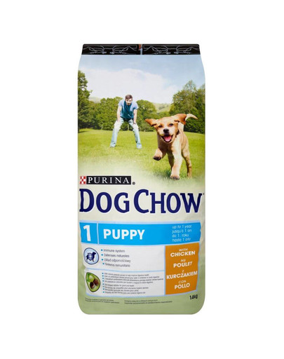 Purina Dog Chow Puppy su vištiena 14 kg