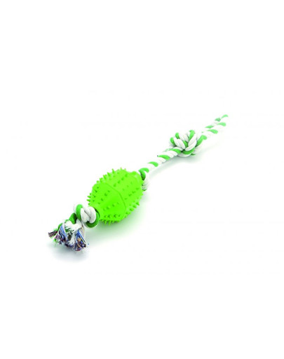 Comfy žaislas Zibi kamuolys ant virvės žalias 45 cm