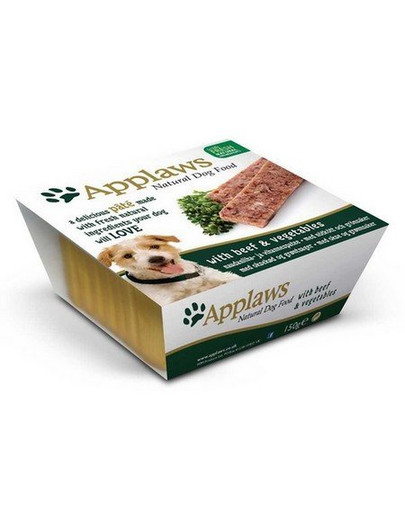 APPLAWS Paštetas su jautiena ir daržovėmis150 g