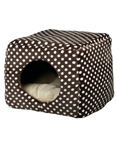 Trixie pliušinė būda-guolis katėms Mina 40 x 32 x 40 cm
