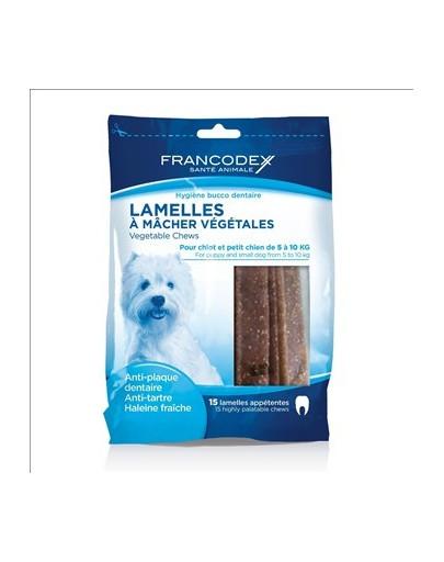 Francodex mažos juostos nuo dantų akmenų ir blogo kvapo 224 g/15 juostų