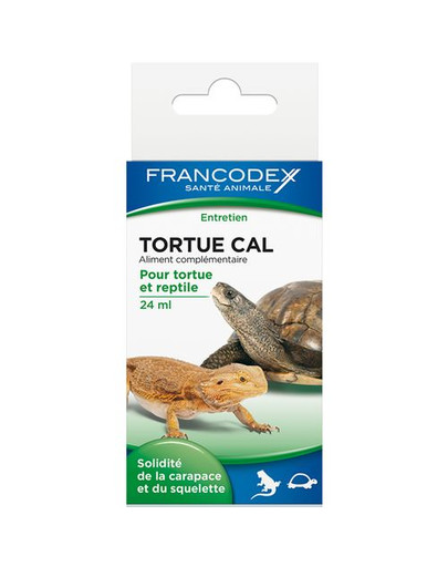 Francodex kalcis vėžliams ir ropliams 24 ml