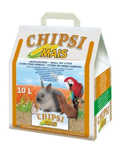 JRS Chipsi mais 10l/4.5kg - podestélka z kukuřičnéch klasů pro hlodavce