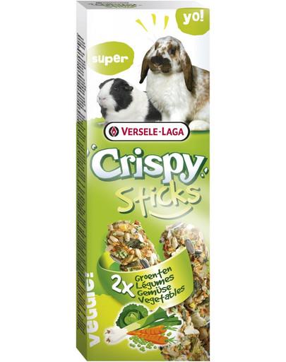 Versele-Laga Crispy Sticks 110 g burbuolės su daržovėmis triušiams ir jūrų kiaulytėms