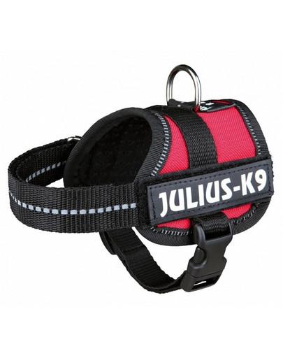 Trixie Julius-K9 petnešos šunims Mini/M 51-67 cm x 28 mm raudonos spalvos