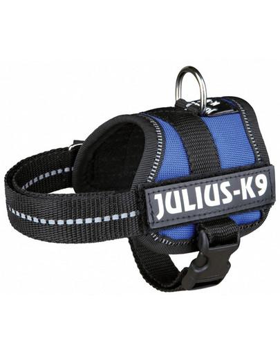 Trixie petnešos Julius-K9 Harness M - L 58–76 cm mėlynos