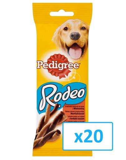 Pedigree Rodeo skanėstas su jautiena 70 g x20