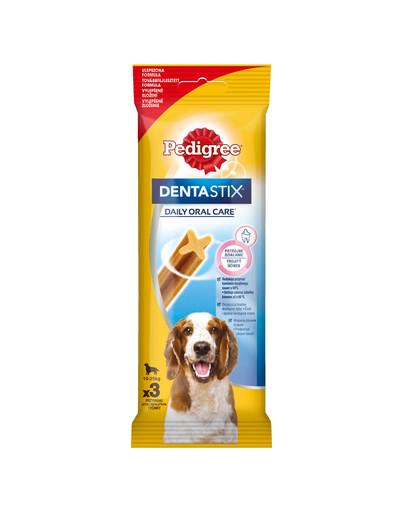 PEDIGREE DentaStix kramtalas vidutinių veislių šunims 77 g
